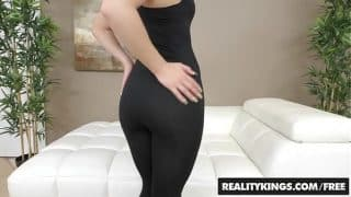RealityKings – First Time Auditions – Abby Cross Bruce Venture – Kissing Cross